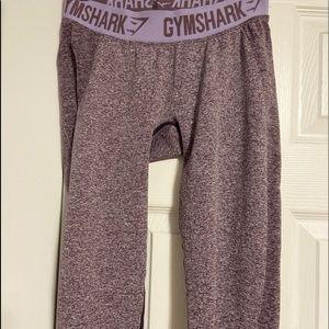 Gymshark purple flex leggings (midi rise)size: m